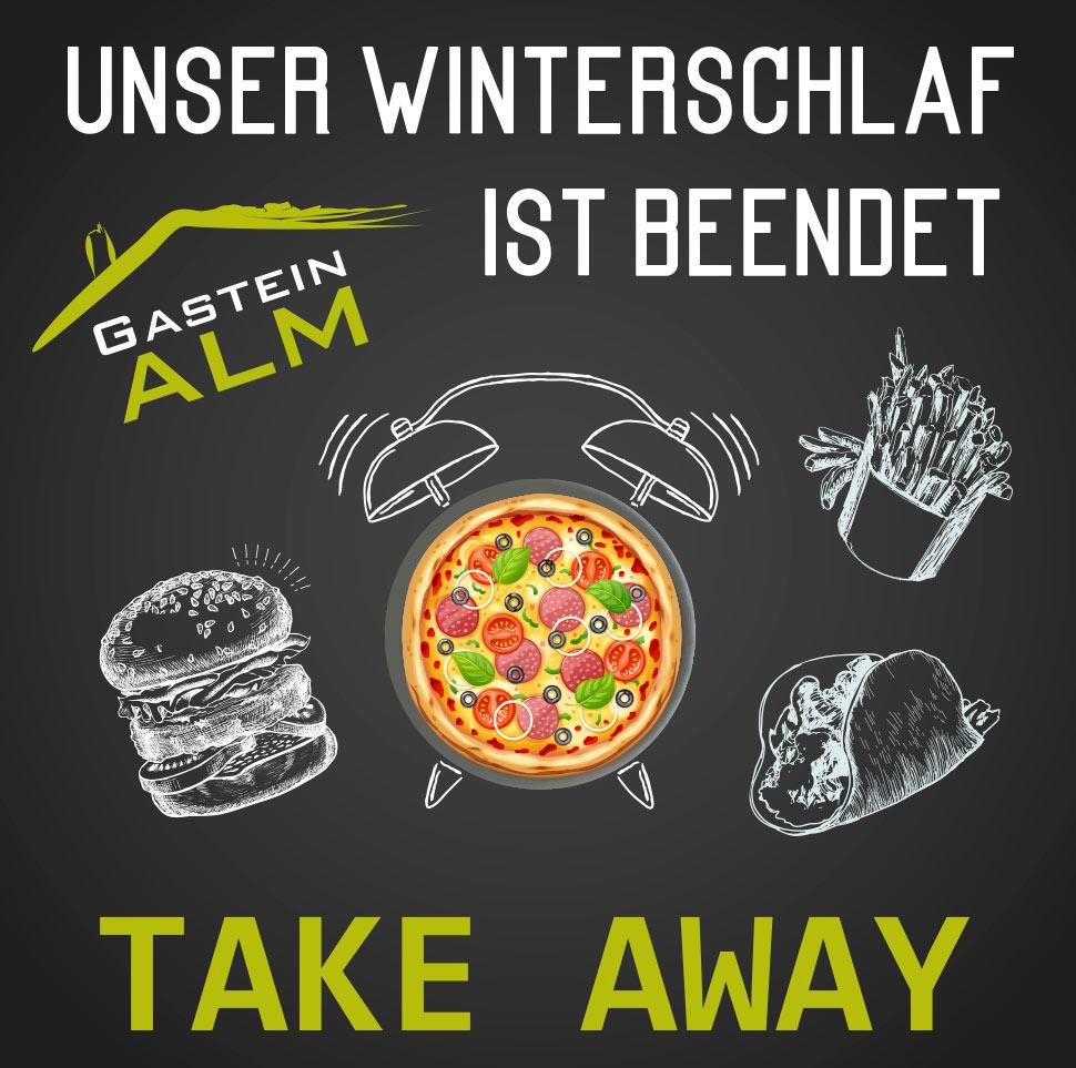 Take away service Gastein Alm